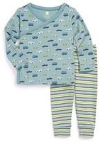 Tea Collection 'Autobahn' T-Shirt & Pants (Baby Boys)
