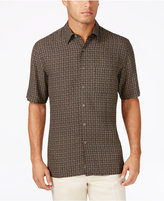 Tasso Elba Men's Geometric Print Shirt, Only at Macy's