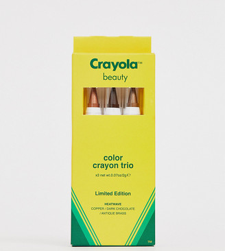 Crayola Colour Crayon Trio Heat Wave - Face Crayons