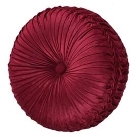 J Queen New York J Queen Maribella Crimson Tufted Round Bedding