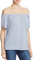 Lilla P Off-the-Shoulder Top