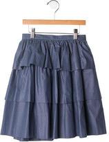 Bonpoint Girls' Layered Patterned Skirt