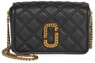Marc Jacobs The Status Naomi Leather Crossbody Bag