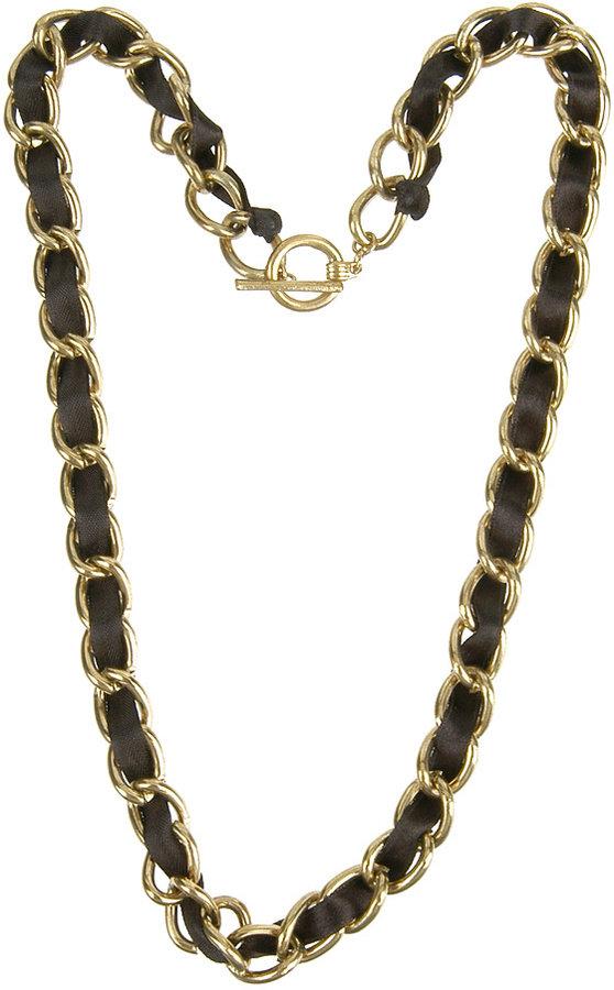 Forever 21 Satin Link Necklace