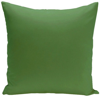 """E By Design Solid Decorative Pillow, Leaf, 16""""x16"""""""