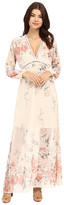 Brigitte Bailey Isabella V-Neck Floral Maxi Dress