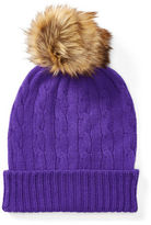 Polo Ralph Lauren Cable-Knit Cashmere Hat