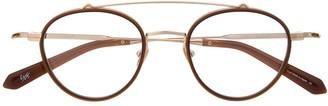 Eque.M Byakko IV round frame glasses