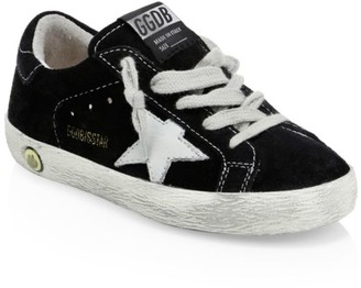 Golden Goose Baby's & Kid's Superstar Suede Sneakers