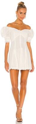 Divine Heritage Off Shoulder Mini Dress
