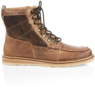 Lucchese Uprange Lace-Up Leather Boots