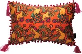 Laura Beirne Interiors The Country Chicken Orange Rectangle Cushion