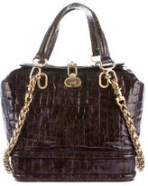 Thomas Wylde Embossed Patent Leather Satchel