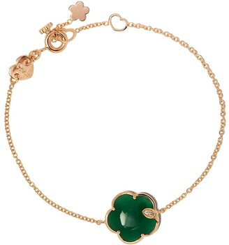 Pasquale Bruni 18kt rose gold Petit Joli agate and diamond bracelet