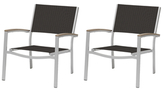 Oxford Garden Travira Chat Chairs (Set of 2)
