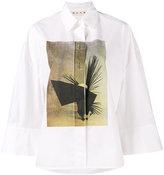 Marni x Ruth Van Beek printed shirt - women - Cotton - 40