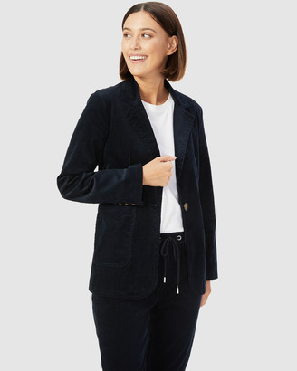 French Connection Women's Coats & Jackets - Boyfriend Cord Blazer - Size One Size, 14 at The Iconic