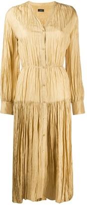 Joseph Falco pleated maxi dress