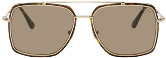 Tom Ford Tortoiseshell Lionel Sunglasses