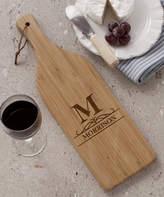 Initial Personalized Wine Bottle Cutting Board