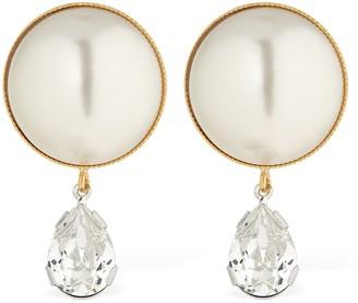 Ca&Lou Clementina Pearl & Crystal Earrings