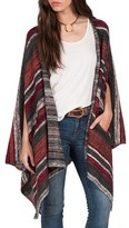 Volcom Women's Head Honcho Stripe Poncho