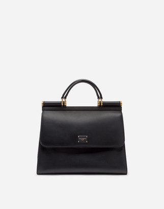Dolce & Gabbana Large Calfskin Sicily 58 Bag