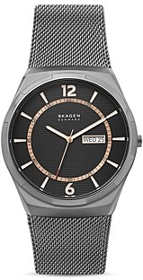 Skagen Melbye Mesh Bracelet Watch, 45mm