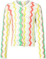 Billieblush Girls Knitted Stripe Cardigan
