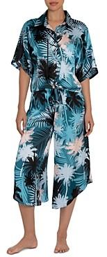 Midnight Bakery Izzy 2 Pc. Printed Cropped Pajamas Set