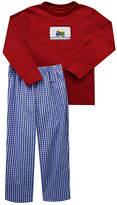 Red & Blue Dump Truck Tee & Pants - Infant, Toddler & Boys