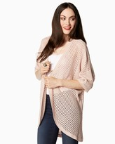 Charming charlie Sunday Open Weave Cardigan