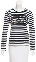 Comme des Garcons Evelyn Reyes Striped Top