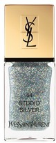 Saint Laurent 'La Laque Couture' Night 54 Fall Collection Nail Lacquer - 54 Studio Silver