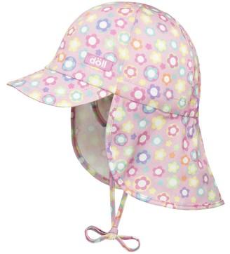 Döll Doll Girl's Bindemutze mit Schirm und Nackenschutz 1815167720 Hat
