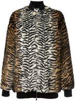 Stella McCartney 'Sabine' bomber jacket - women - Cotton/Acrylic/Modacrylic/Wool - 38