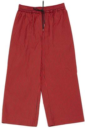 3.1 Phillip Lim Red Cotton Trousers for Women