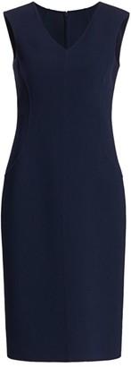 Michael Kors Stretch-Boucle Sheath Dress