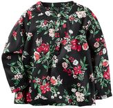 Carter's Girls 4-8 Floral Babydoll Top