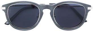 Cartier C Decor pantos-frame sunglasses