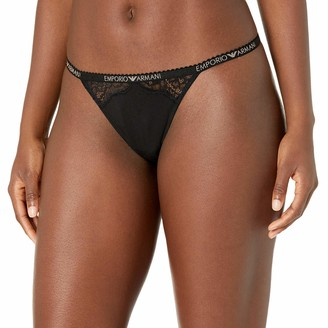 Emporio Armani Women's Fancy Cotton T-Thong