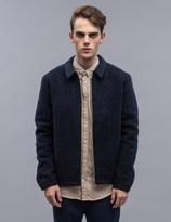 Norse Projects Elliot Melange Wool Fleece Jacket