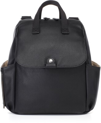Babymel Robyn Convertible Faux Leather Diaper Backpack