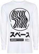 Topman OKUH Bold Print Long Sleeve Top