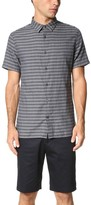 Vince Square Hem Short Sleeve Melrose Shirt