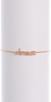 Alex and Ani Amour 14K Rose Gold Plated 'Amour' Adjustable Bracelet