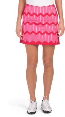 I Love Lucy Striped Golf Skort