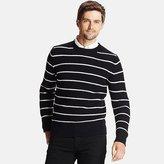 Uniqlo Men Middle Gauge Striped Crew Neck Sweater