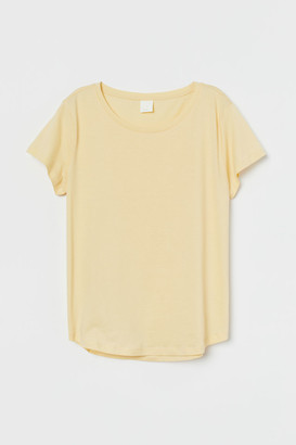 H&M T-shirt - Yellow