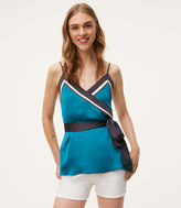 LOFT Borderline Wrap Cami